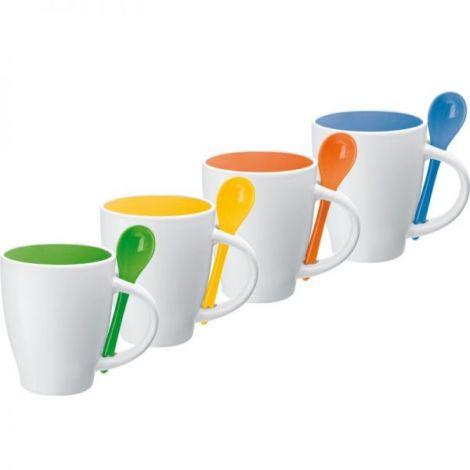Kaffeebecher Multicolor mit 1C Keramikdruck