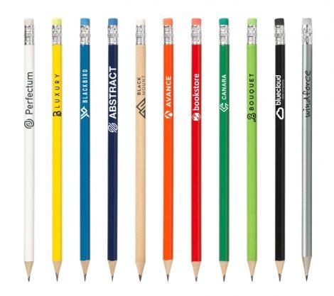 Bleistift Pencil mit Radierer