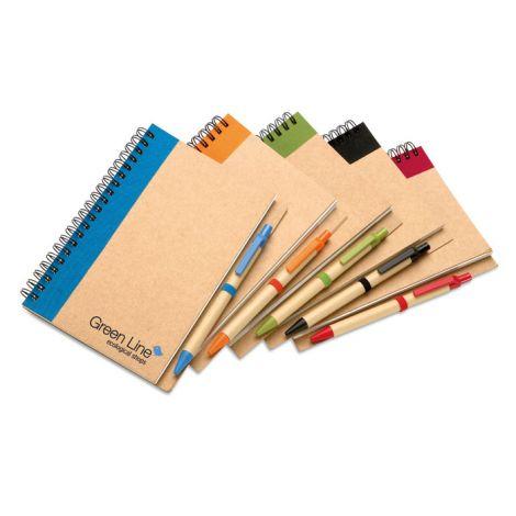 Notizbuch Recyclebook mit Kugelschreiber *NEU*