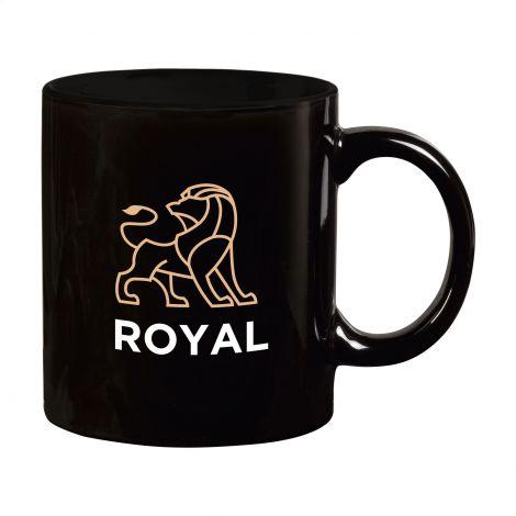 Kaffeebecher Tasse Basic mit Keramikdruck