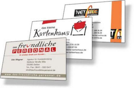Visitenkarte Premium