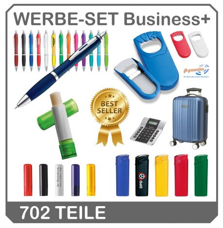 Werbe Set Business+ - Aktion mit Gratis Luxus Trolley !