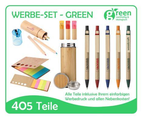 Werbe Set Green ÖKO
